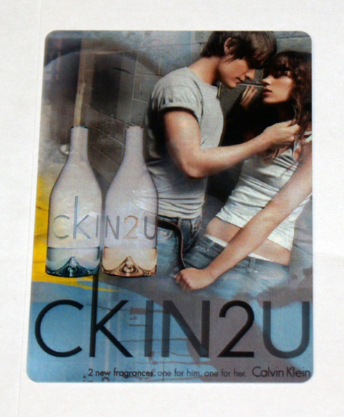 Calvin Klein Personalized Playing Cards